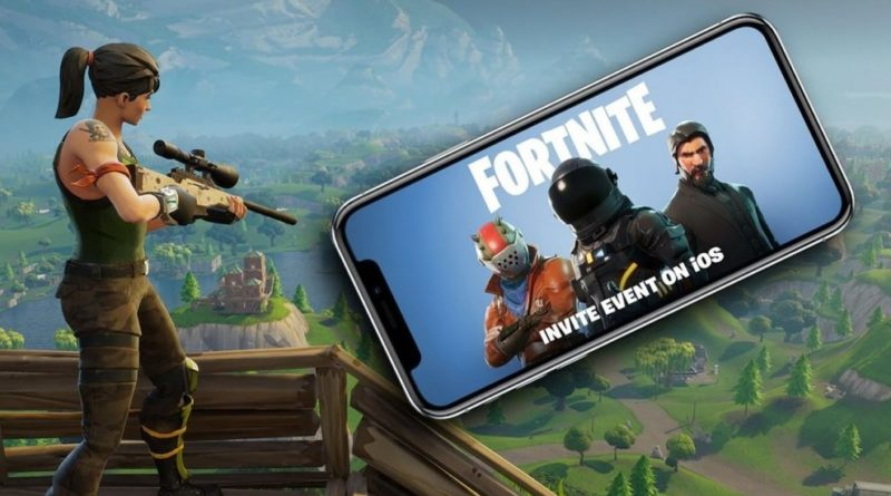 Fortnite Battle Royale mobile