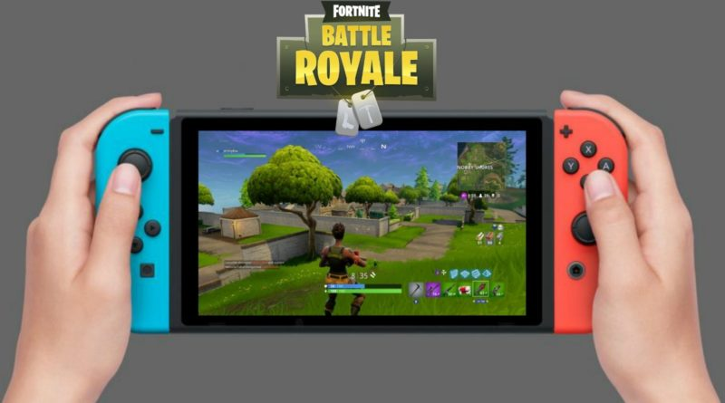 Fortnite Battle Royale Gratis SWITCH