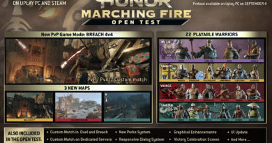 For Honor Marching Fire Beta