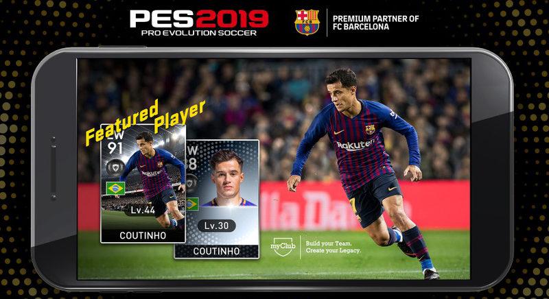 PES 2019 Mobile gratis
