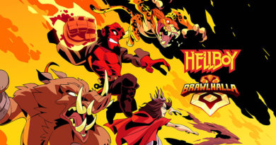 Hellboy arriva nel roster di Brawlhalla