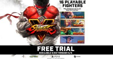 Street Fighter V gratis fino al 5 maggio