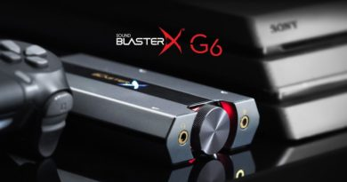 Vinci Creative Sound BlasterX G6 con il TGTech!