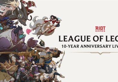 League of Legends festeggia 10 anni con tante novità
