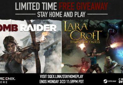 Tomb Raider e Lara Croft and the Temple of Osiris ORA Gratis!