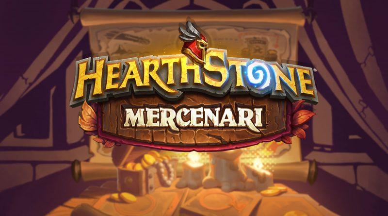 Mercenari di Hearthstone disponibile a partire da oggi