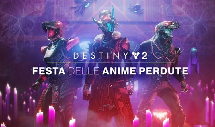 Destiny 2 – La Festa delle Anime Perdute torna gratis per tutti i giocatori